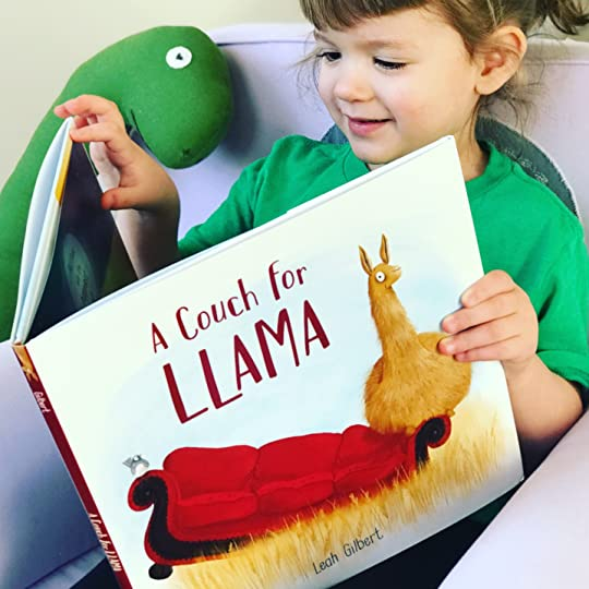 https://thebabybookwormblog.wordpress.com/2018/02/05/a-couch-for-llama-leah-gilbert/