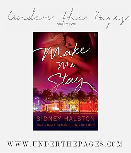 Review: Make me stay by Sidney Halston
