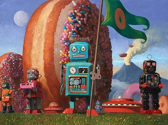 Robots and Donuts: The Art of Eric Joyner by Eric Joyner