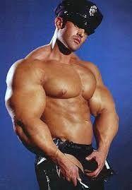 hot cop male stripper
