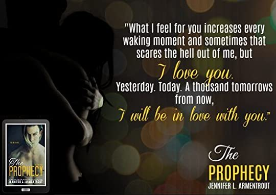 The prophecy titan 4 by jennifer l armentrout it was completely and utterly breath taking to read the devotion the hot passion the steamy scenes the quiet acceptance of the other fandeluxe Choice Image