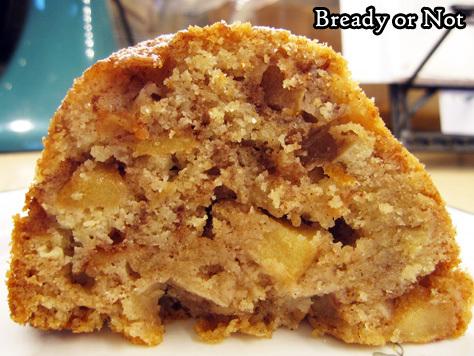 Bready or Not: Cinnamon Apple Bundt Cake