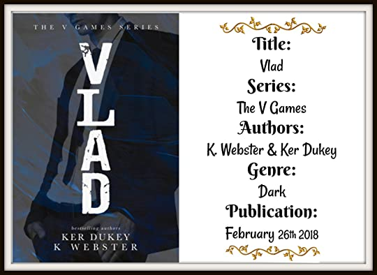Vlad (The V Games, #1) by Ker Dukey