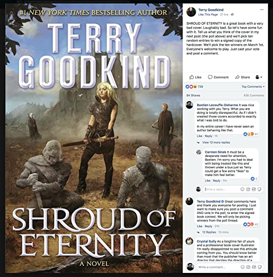 Shroud of Eternity by Terry Goodkind