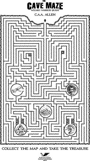 C A A Allen S Blog The Cave Maze Printable Maze Challenge