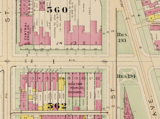 John deferraris blog this excerpt from a 1903 real estate atlas shows the three mansions of douglas row marked 32 and 1 as well as the central presbyterian church at the fandeluxe Images