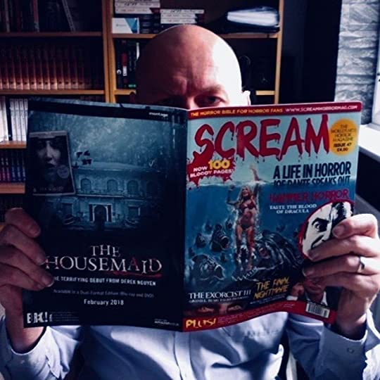 Should be working (instead I'm reading). Finally got my hands on the latest #screamhorrormag