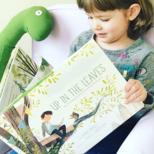 https://thebabybookwormblog.wordpress.com/2018/03/15/up-in-the-leaves-the-true-story-of-the-central-park-treehouses-shira-boss/
