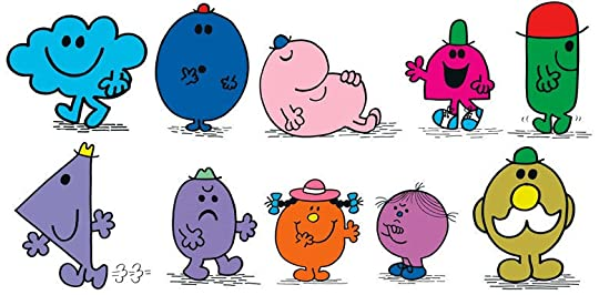 Characters from Roger Hargreaves' Mr. Men and Little Miss series