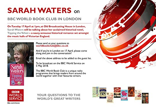 Sarah Waters on BBC world book club