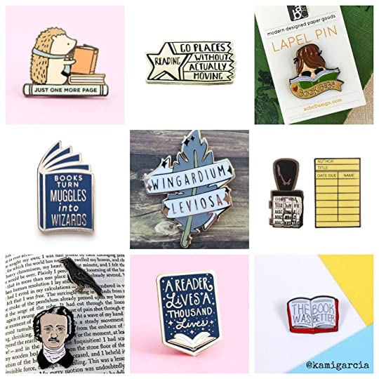 enamel pins for book lovers