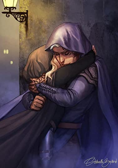 Image result for aelin and rowan fanart