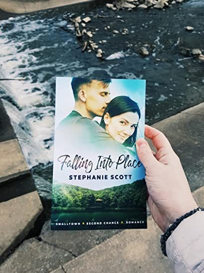 Falling Into Place book cover and stream