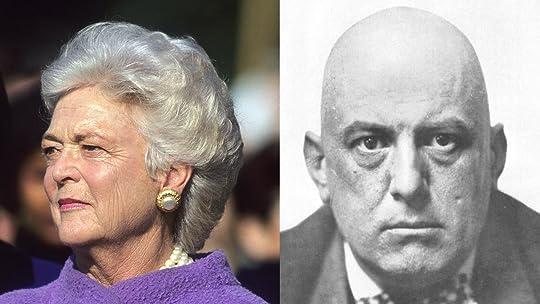 Was Barbara Bush Really Aleister Crowley