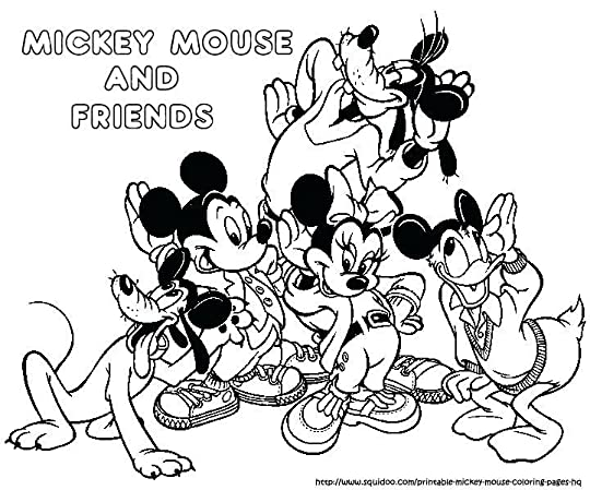 mickey mouse clubhouse coloring page perfect mickey and friends coloring pages for your mickey mouse clubhouse colouring pictures to print