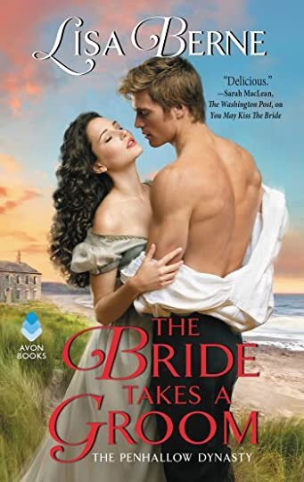 Image: cover for The Bride Takes a Groom by Lisa Berne (Avon Books)
