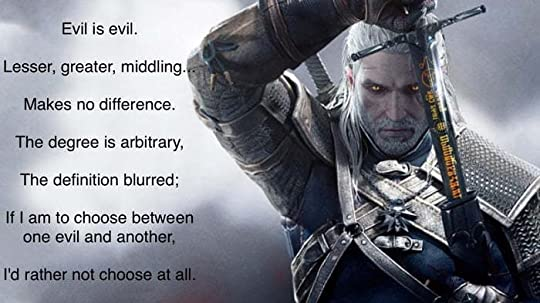 geralt of rivia quotes