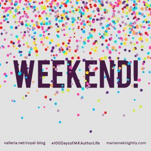 Weekend Banner Colorful