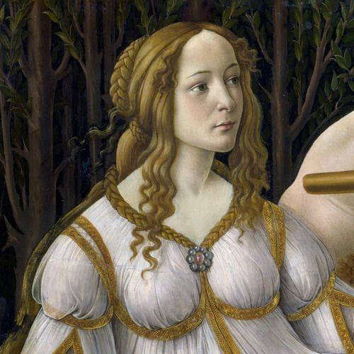 Botticelli Venus detail