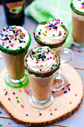 coffee with sprinkles
