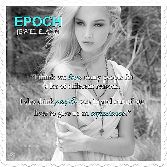 Resultado de imagem para Epoch de Jewel E. Ann