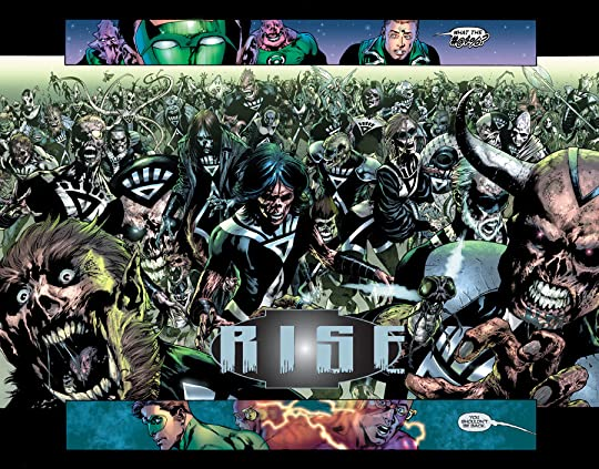 blackest night tpb reading order