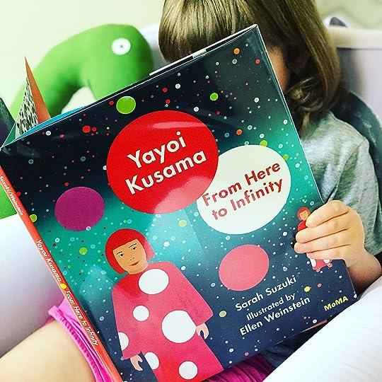 https://thebabybookwormblog.wordpress.com/2018/06/15/yayoi-kusama-from-here-to-infinity-sarah-suzuki/