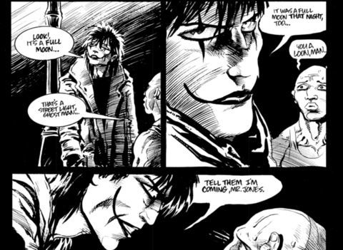 Image result for the crow comic
