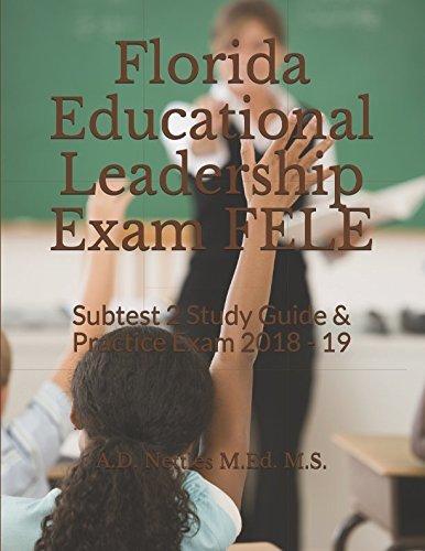 1980938695 d w l d florida educational leadership exam fele pdf rh goodreads com Exam Study Tips Social Study Exam Grade 7 Example