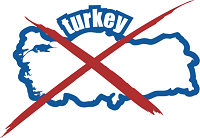 Living in Turkey Map outline