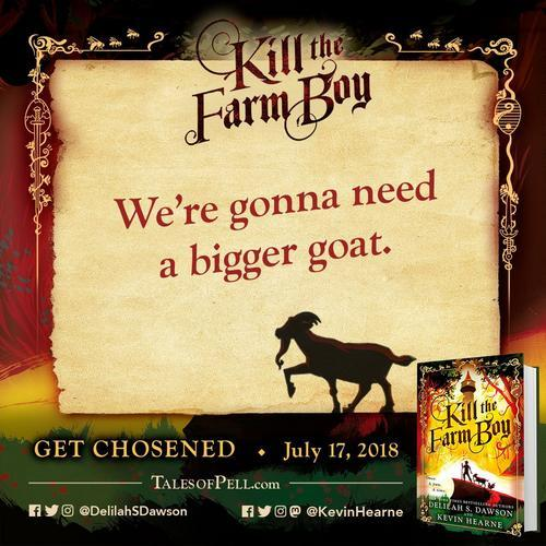 Kill the Farm Boy (The Tales of Pell, #1) by Delilah S  Dawson