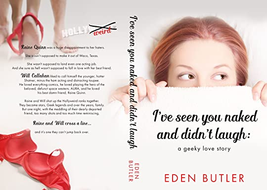 Eden butler author of thin love ive got another freebie alert for you guys this one in honor of comiccon check out my geeky love story ive seen you naked and didnt laugh for fandeluxe Images