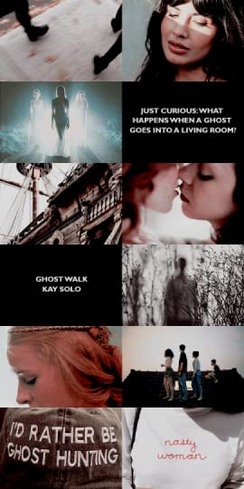 graphic edit of ghost walk