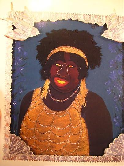 mixed-media image of singer Ma Rainey