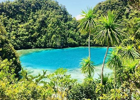 island lagoon