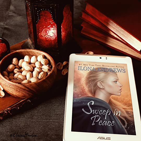 Sweep in Peace by Ilona Andrews Elaine Howlin Book Blog Review