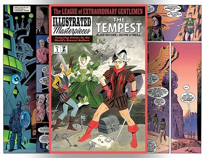 annotations to league of extraordinary gentlemen volume - 750×576