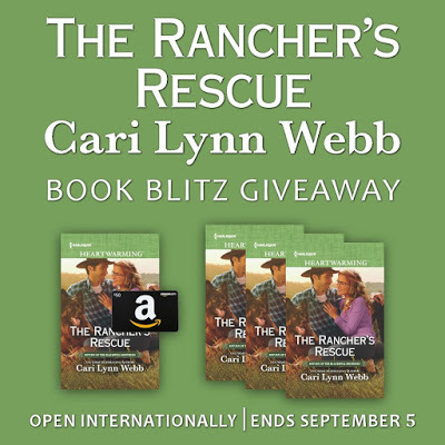 Annie douglass limas blog 1 winner will receive a 50 amazon egift card and a copy of the ranchers rescue print to uscan and ebook to international fandeluxe Gallery