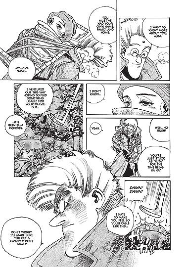 Battle Angel Alita by Yukito Kishiro