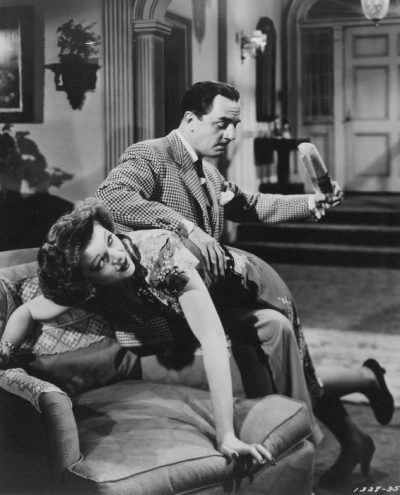 Myrna Loy and William Powell as Nick and Nora Charles