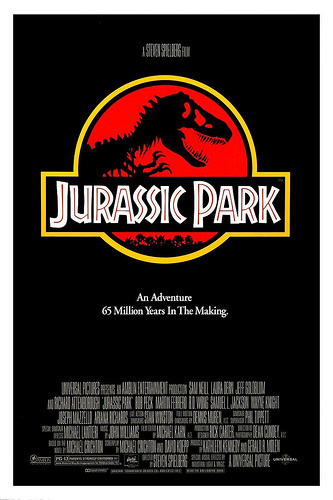 JURASSIC PARK Movie PHOTO Print POSTER Textless Film Art Steven Spielberg 002