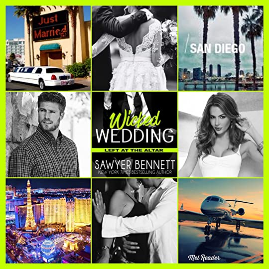 Wedding Left At The Altar: Wicked Wedding (Left At The Altar, #4) By Sawyer Bennett