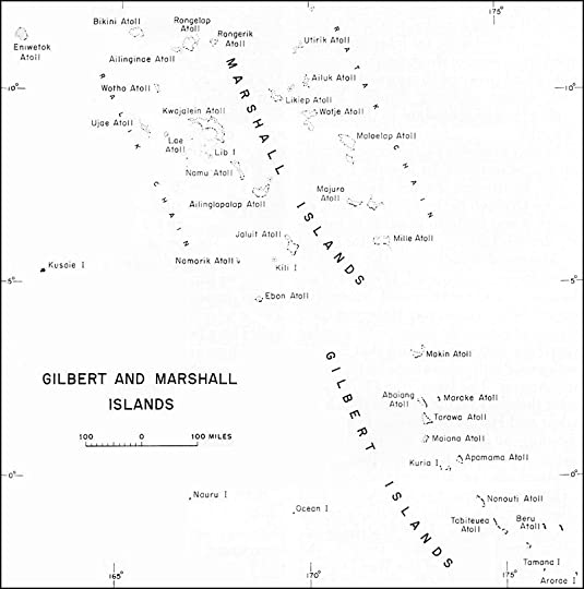 Map of the Gilbert and Marshall Islands, Central Pacific (US Army Center of Military History)