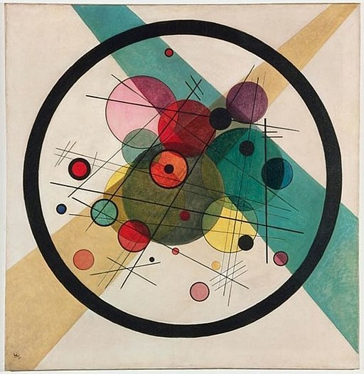 Vassily Kandinsky, 1923 - Circles in a Circle