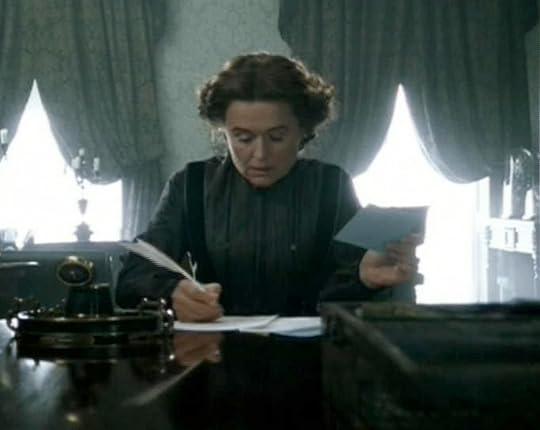 The BBC's Hannah Thornton, writing those dinner invitations