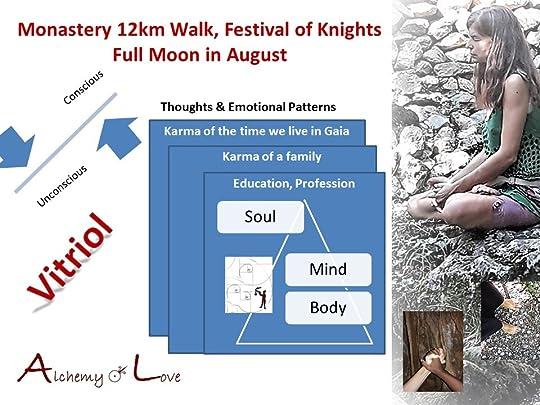 monastery 12km walk festival of knights full moon in August