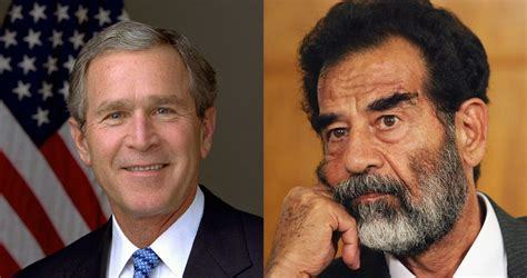 George W. Bush hated Saddam Hussein