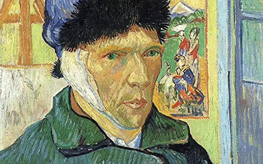 Van Gogh with bandaged ear