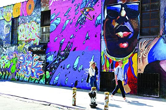 BUSHWICK BROOKLYN MURAL; Photo Cred: Newyorkspaces.com