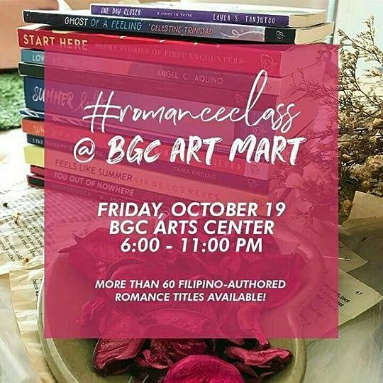romanceclass at BGC Art Mart, 19 October 2018